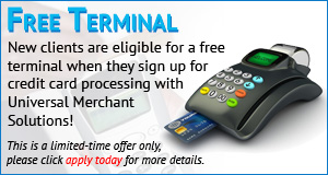 free terminal with signup. new clients only.