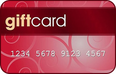 Ask us about giftcard systems